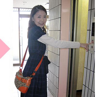 姫路さくらクリニック。入口