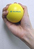 アラガン社特製のストレスボール